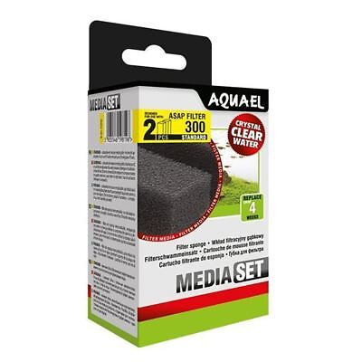Aquael ASAP 300 Replacement Sponge Standard x2 Aquarium Media *GENUINE*