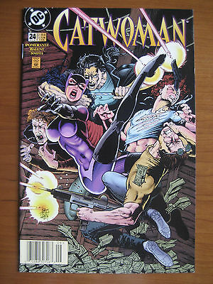 Dc Comics, Catwoman # 24, 1995 Very Fine-Near Mint !!