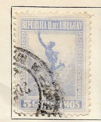 Uruguay 1921 Early Issue Fine Used 5c. 055468