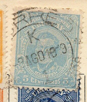 Uruguay 1912 Early Issue Fine Used 5c. 055444