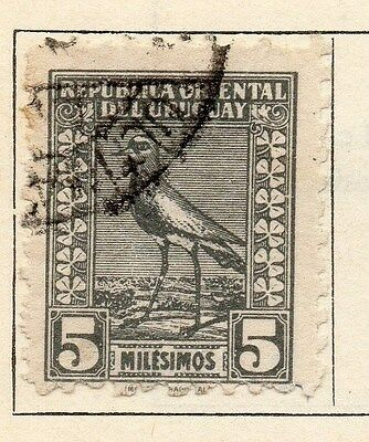 Uruguay 1924-25 Early Issue Fine Used 5m. 055485