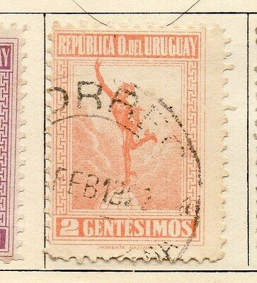 Uruguay 1921 Early Issue Fine Used 2c. 055465