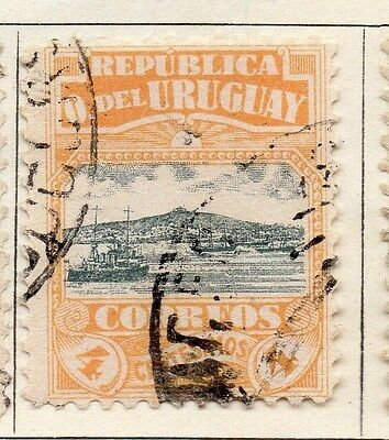 Uruguay 1919 Early Issue Fine Used 4c. 055457