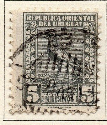 Uruguay 1923 Early Issue Fine Used 5m. 055473
