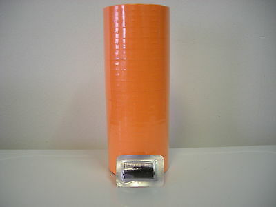 FL  Orange labels for Monarch 1110 1 line Label Gun  CASE=15 SLEEVES