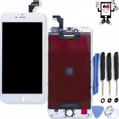 PANTALLA PARA iPhone 6+ 6 Plus Blanca TACTIL LCD Marco Completa DISPLAY White
