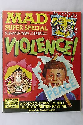 Mad Summer 1984 Magazine Super Special #47 Vintage UK Humour Illustrated
