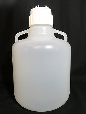 THERMO SCIENTIFIC Nalgene Polypropylene Rexene 23S1A 10L Carboy 83B Screw Cap