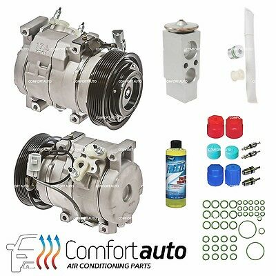 New A/C AC Compressor KIT Fits: 2002 - 2006 Toyota Camry L4 2.4L 4 Cylinder ONLY