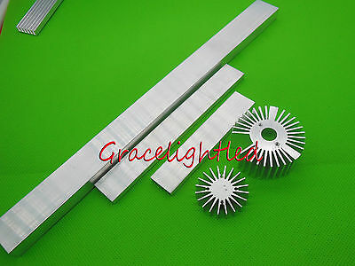 100 150 300mm  High Power LED aluminum Heatsink for 1w 3w 5w 10W 10*3W led light