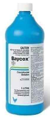 Baycox Poultry 1 Litre Chicken Turkey Treatment for Coccidiosis