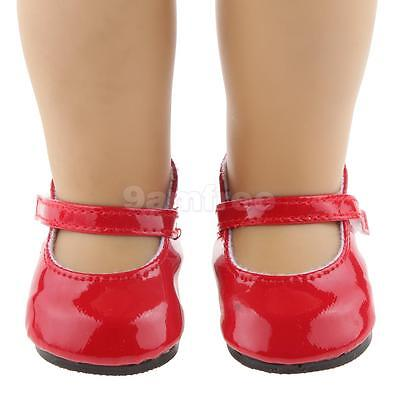 """Red Shoes for 18"""" American Girl AG Our Generation Doll Clothes Accessory"""