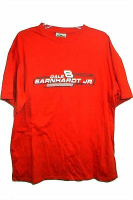 Dale Earnhardt Jnr. #8 Red T-Shirt Size XXL