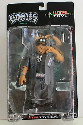"""New Large 7"""" Homie figure Ice Block  - Vital Toys made these homies figures"""