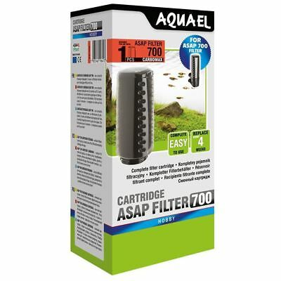 Aquael ASAP 700 Filter Cartridge with Carbomax Aquarium Media
