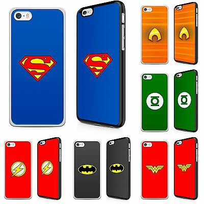 Phone Hard Cases Covers DCU Superheroes Comic Characters for iPhone models