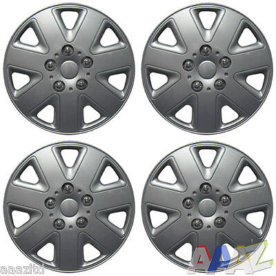 "16"" Wheel Covers Hub Caps 16 Inch Wheel Trims Trim Set Of 4 ABS Plastic Trim"