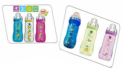 Mam Baby 330ml Bottle 1pk (Choose Your Colour)