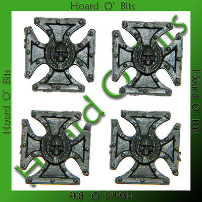 WARHAMMER BIN BITS DEATHKNELL WATCH - 4x IRON CROSS