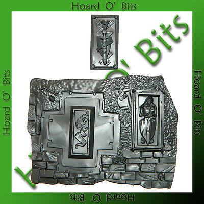 WARHAMMER BIN BITS GARDEN OF MORR - BASE with OPEN CASKET