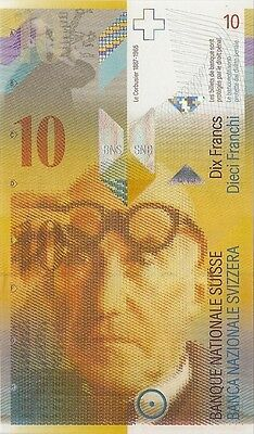 Switzerland 10 Francs P-67 Unc