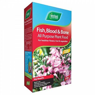 Westland Fish, Blood and Bone - All Purpose Plant Food 1.5KG