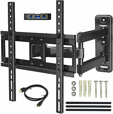 "Full Motion Tilt Swivel TV Wall Mount 26 32 37 39 42 46 48 50 55"" LED LCD Plasma"