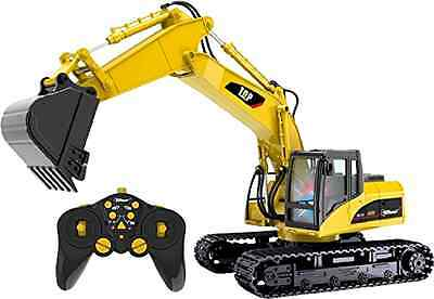 Remote Control Excavator RC Construction Tractor Vehicle Truck Toy Digger Car