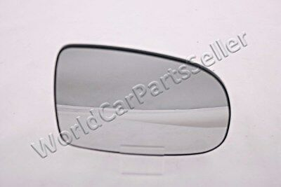 Blue Aspherical Heated Left Wing Side Mirror Glass Fits AUDI A4 B5 A6 C4 94-99