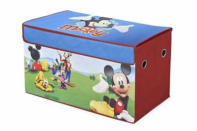 Disney Mickey Mouse Clubhouse Collapsible Storage Trunk for Toys & More, New
