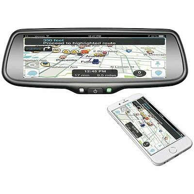 """NEW Boyo Vtw73m 7.3"""" Oe-style Rearview Mirror Monitor With Miracast(r)"""