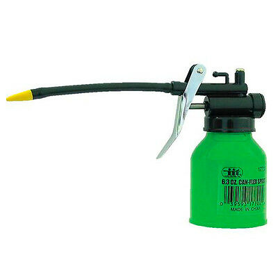 Can Flexible Spout Refillable 6.3oz Thumb Pump Oil Oiler Squirt Squeeze Trigger