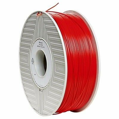 NEW Verbatim Abs 3d Filament Red 55003