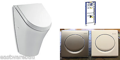 Urinal Element Original Geberit mit Fertigbauset Urinal + Deckel Vorwandelement