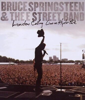 """BRUCE SPRINGSTEEN """"LONDON CALLING LIVE in the Hyde Park""""  BLU RAY NEW+"""