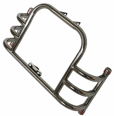 LEG GUARD BUTTERFLY CRASH BAR ROYAL ENFIELD UNIVERSAL FRONT ENGINE STAINLESS ste