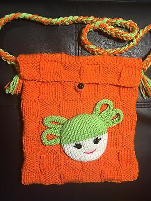 Childrens' Handmade Hand-Knitted Handbags