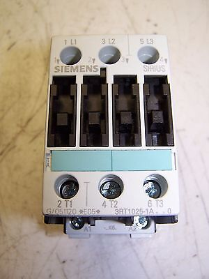 New Siemens 3Rt1025-1A..0 Contactor 120 Vac Coil 3Rt1025-1A 35 A 600V 120 V Coil