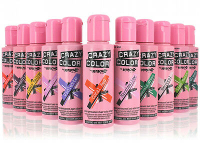 Crazy Color Tintura Colorazione Semipermanente In Crema 100ml RenBow