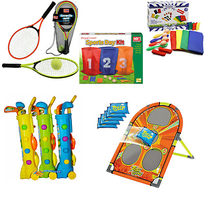 Garden Games Outdoor Ring Toss Rounders Set Bean Bags Space Hopper Sports Day