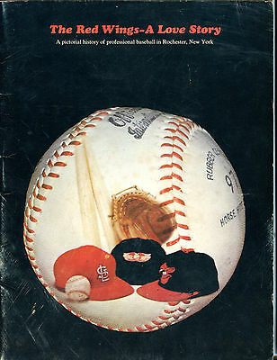 Rochester Red Wings Pictorial History Baseball Magazine 1969 VGEX 040816jhe