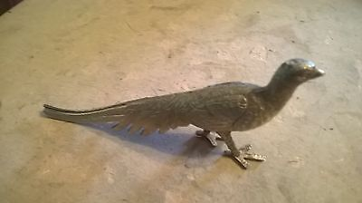 Decorative Metal Figurine Peacock 5 inches long