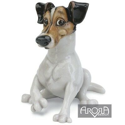 Pets with Personality Fabian the Jack Russell  Dog Figurine NEW in BOX  17450