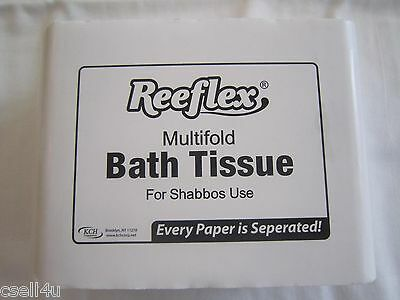 Reeflex White Multifold Bath Tissue MBT400