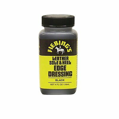 Fiebing's Sole Edge & Heel Shoe Polish Dressing 4 oz