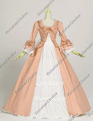 Colonial Renaissance Prom Dress Princess Gown Theatre Adult Women Clothing 257