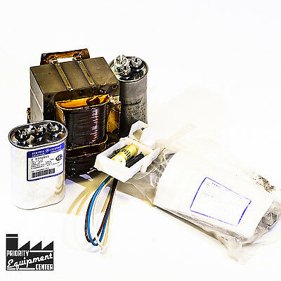General Electric GERB24S0A Ballast Replacement Kit W/ Capacitors & Mounts