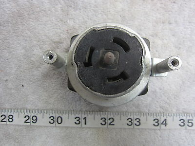 Hubbell HBL CS6369 50A 125/250V Twist-Lock Receptacle w Mount Non-NEMA, Used