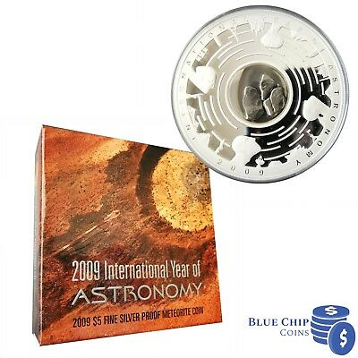 Only 23,623 made SCARCE 2009 Year of ASTRONOMY $1 proof coin Commemorative!