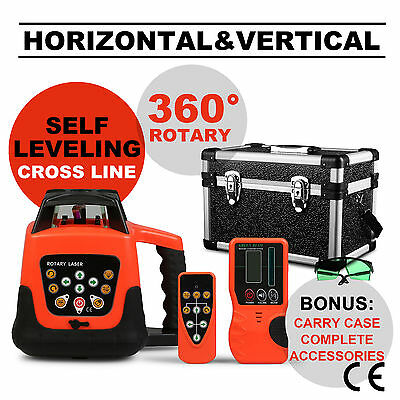 New Green Automatic Self-Leveling Electronic Rotary Rotating Laser Level 500M